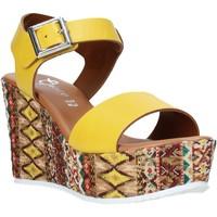 Cipők Női Szandálok / Saruk Grace Shoes 08 Sárga