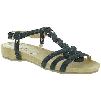 Cipők Női Szandálok / Saruk Mally 3828GL Fekete