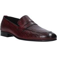 Cipők Férfi Mokkaszínek Exton 1021 Barna