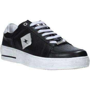 Cipők Férfi Rövid szárú edzőcipők Exton 178 Fekete