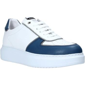 Cipők Férfi Rövid szárú edzőcipők Exton 956 Fehér