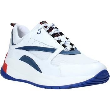 Cipők Férfi Rövid szárú edzőcipők Exton 291 Fehér