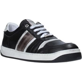 Cipők Férfi Rövid szárú edzőcipők Exton 310 Fekete