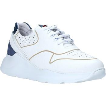 Cipők Férfi Rövid szárú edzőcipők Exton 237 Fehér
