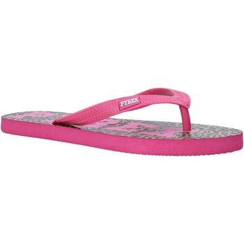 Cipők Női Lábujjközös papucsok Pyrex PY020164 Rózsaszín