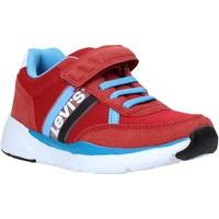 Cipők Gyerek Rövid szárú edzőcipők Levi's VORE0031T Piros