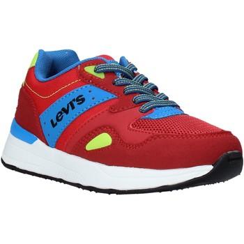Cipők Gyerek Rövid szárú edzőcipők Levi's VBOS0011T Piros
