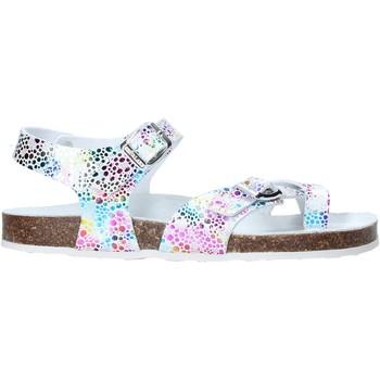 Cipők Lány Szandálok / Saruk Grunland SB1503 Fehér