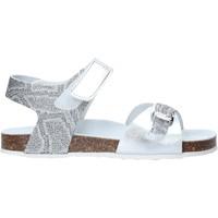 Cipők Lány Szandálok / Saruk Grunland SB1501 Ezüst