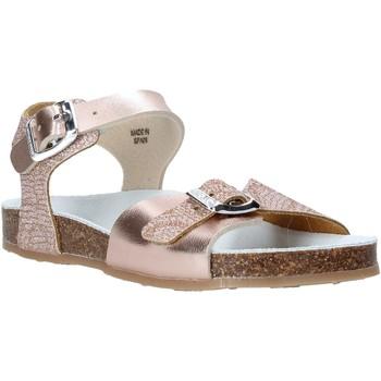 Cipők Lány Szandálok / Saruk Grunland SB1500 Bézs