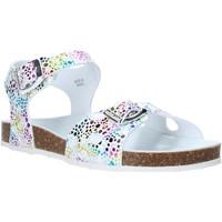 Cipők Lány Szandálok / Saruk Grunland SB1502 Fehér