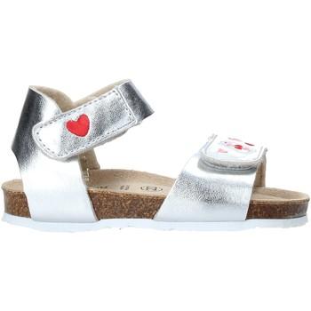 Cipők Lány Szandálok / Saruk Grunland SB1546 Ezüst