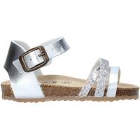 Cipők Lány Szandálok / Saruk Grunland SB1544 Ezüst