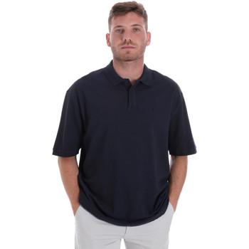Ruhák Férfi Rövid ujjú galléros pólók Les Copains 9U9016 Kék