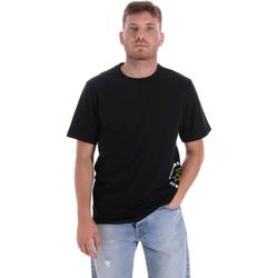 Ruhák Férfi Rövid ujjú pólók Converse 10018872-A03 Fekete