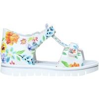 Cipők Lány Szandálok / Saruk Nero Giardini E021476F Fehér