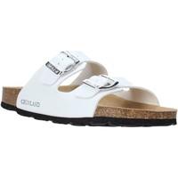 Cipők Női Papucsok Grunland CB1035 Fehér