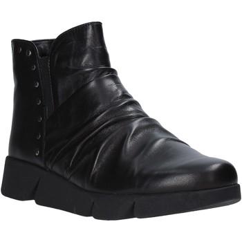 Cipők Női Bokacsizmák The Flexx E1549_16 Fekete
