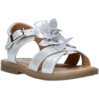 Cipők Lány Szandálok / Saruk Grunland PS0062 Ezüst