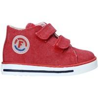 Cipők Gyerek Magas szárú edzőcipők Falcotto 2014604 04 Piros