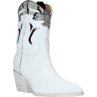 Cipők Női Bokacsizmák Mally 6918P Fehér