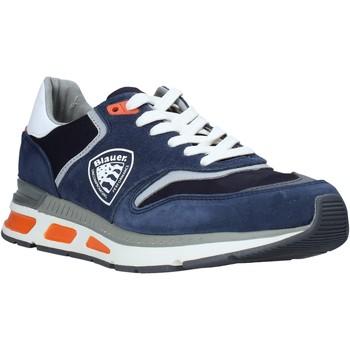 Cipők Férfi Rövid szárú edzőcipők Blauer S0HILO01/CAM Kék