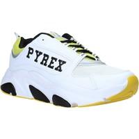 Cipők Férfi Rövid szárú edzőcipők Pyrex PY020206 Fehér