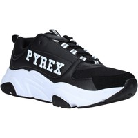 Cipők Férfi Rövid szárú edzőcipők Pyrex PY020206 Fekete