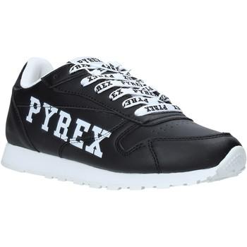 Cipők Női Rövid szárú edzőcipők Pyrex PY020235 Fekete