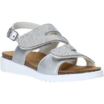 Cipők Lány Szandálok / Saruk Grunland SB1559 Ezüst