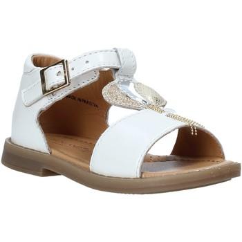 Cipők Lány Szandálok / Saruk Grunland PS0063 Fehér