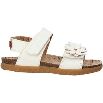 Cipők Lány Szandálok / Saruk Grunland SB1564 Fehér