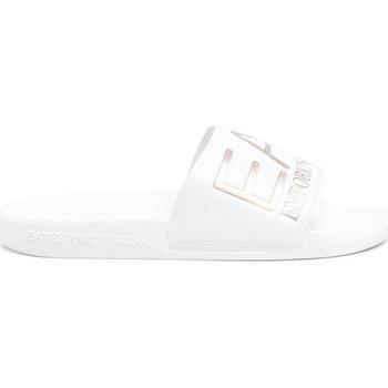 Cipők Női strandpapucsok Ea7 Emporio Armani XCP001 XCC22 Fehér
