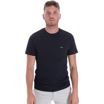 Ruhák Férfi Rövid ujjú pólók Les Copains 9U9011 Kék