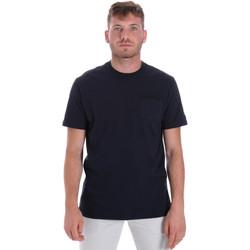 Ruhák Férfi Rövid ujjú pólók Les Copains 9U9010 Kék
