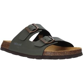 Cipők Férfi Papucsok Grunland CB3012 Zöld