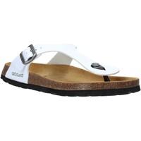 Cipők Férfi Lábujjközös papucsok Grunland CB3014 Fehér