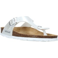 Cipők Gyerek Lábujjközös papucsok Grunland CB2419 Fehér