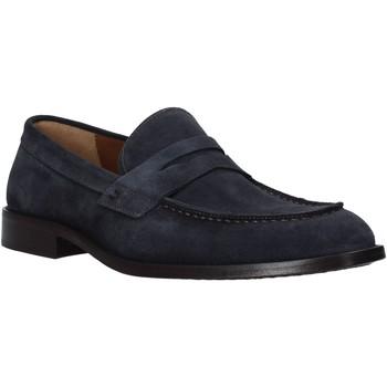 Cipők Férfi Mokkaszínek Carmine D'urso 161432CD Kék