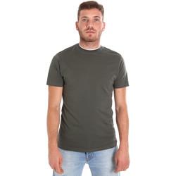 Ruhák Férfi Rövid ujjú pólók Les Copains 9U9013 Zöld