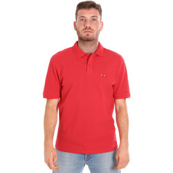 Ruhák Férfi Rövid ujjú galléros pólók Les Copains 9U9015 Piros