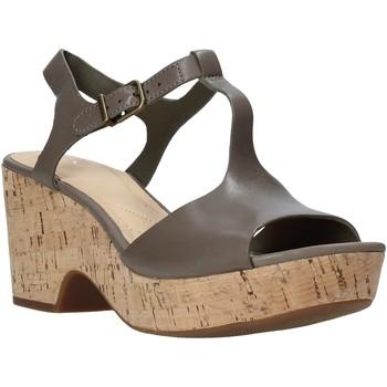 Cipők Női Szandálok / Saruk Clarks 26142158 Zöld