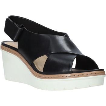 Cipők Női Szandálok / Saruk Clarks 26141167 Fekete
