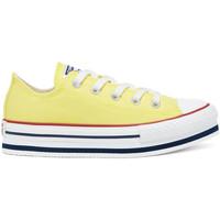 Cipők Gyerek Rövid szárú edzőcipők Converse 668283C Sárga