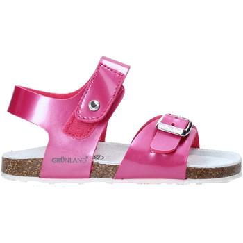 Cipők Gyerek Szandálok / Saruk Grunland SB0375 Rózsaszín