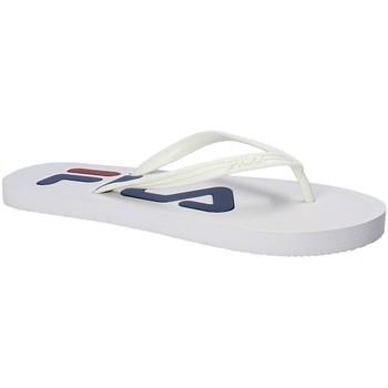 Cipők Női Lábujjközös papucsok Fila 1010349 Fehér