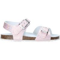 Cipők Lány Szandálok / Saruk Grunland SB0812 Rózsaszín