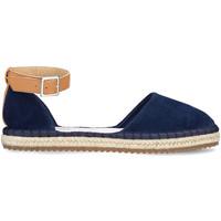 Cipők Női Gyékény talpú cipők Docksteps DSE106403 Kék