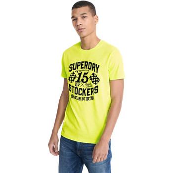 Ruhák Férfi Rövid ujjú pólók Superdry M1010259A Sárga