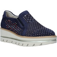 Cipők Női Belebújós cipők CallagHan 14834 Kék